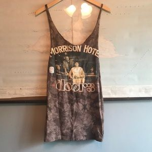 🌈VTG Upcycled Doors Jim Morrison Mini Dress